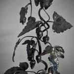 G.c.s.-Kovaný stojan-Chmelový keřík.. (12)